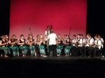 The Langley Ukulele Ensemble performs at the Astor Theatre