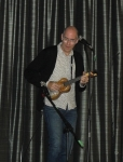 Mike Diabo performing Friday evening.
