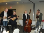 Mike Diabo, Paul Cumming, Chalmers Doane and Ralph Shaw at the Friday evening jam.